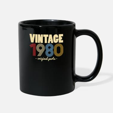 Turn Vintage 40th Birthday T-Shirt Gift Idea Men - Full Color Mug