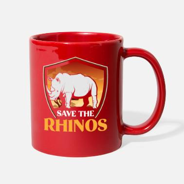 Rhinoceros Rhino Rhinoceros - Full Color Mug