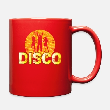 Girls Night Out 70s Disco Dancers Retro 60s Party Club Dancing - Full Color Mug