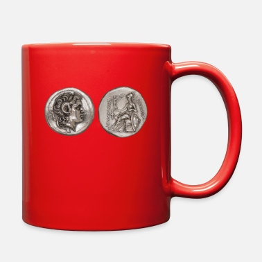 Greece Alexander the Great Head Ancient Greece Coins - Full Color Mug