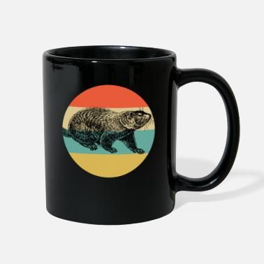 Groundpig Vintage Classic Retro color Happy Groundhog Day - Full Color Mug