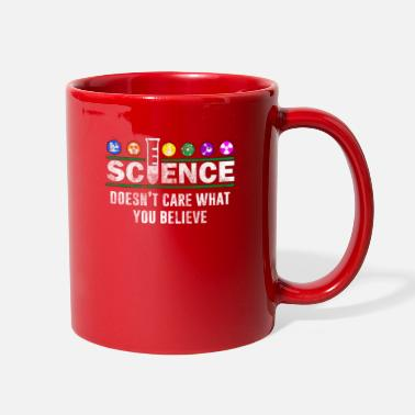 Students Science Doesn't Care What You Believe - Full Color Mug