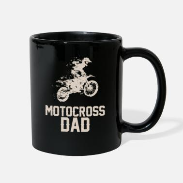 Dirt Bikes For motocross father - Full Color Mug