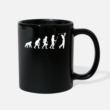 Golf Evolution Golf Golfing - Full Color Mug
