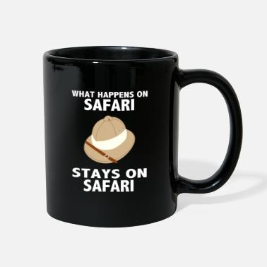 Safari What Happens On Safari Stays On Safari - Safari - Full Color Mug