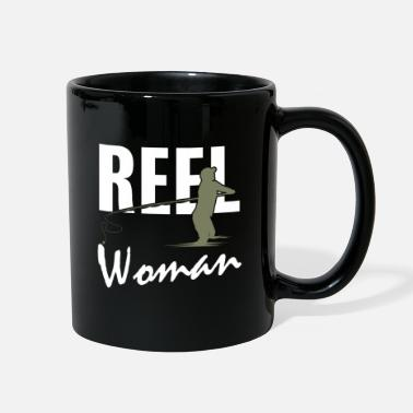 Meme Reel Woman Funny Fishing Gifts - Full Color Mug