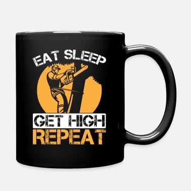 /'EAT SLEEP SAW/' T-SHIRT Tree Surgeon//Arborist//Dad//Husband//Brother//Fun Gift idea