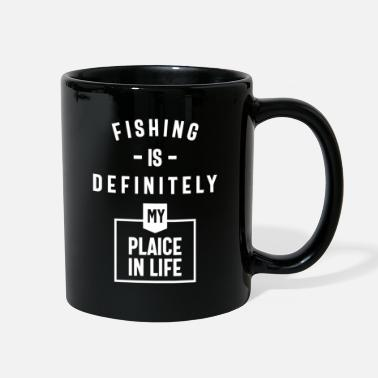 Plaice Fishing Is Definitely My Plaice In Life - Full Color Mug