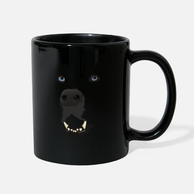 Dog in the dark - Full Color Mug