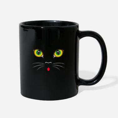Cat Face CAT FACE Cute cat face - Full Color Mug