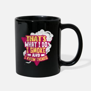 Smoking Smoking - Full Color Mug