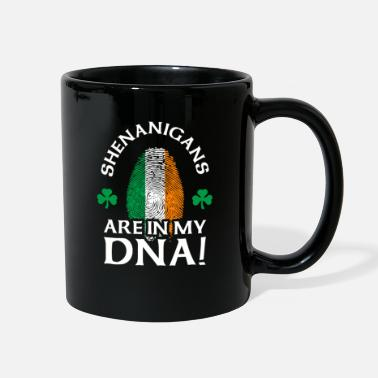 Crest Funny Irish Quote Shenanigans Are In My DNA - Full Color Mug