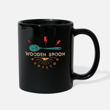 Wooden Spoon Wooden Spoon Survivor Sarcastic Humor - Full Color Mug