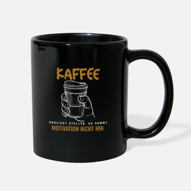 Black And Gold Coffee Motivation - Full Color Mug