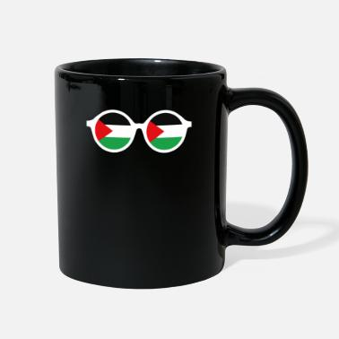 East Palestine Flag Goggles - Funny Middle East Poster - Full Color Mug