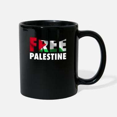 Occupation Free Palestine - The Palestinian Flag Graphic - Full Color Mug