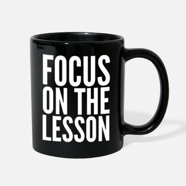 Man Focus On The Lesson - Full Color Mug