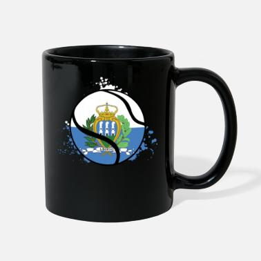 Birth TENNIS SAN MARINO - Full Color Mug