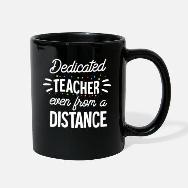 Love Dedicated Teacher Quarantine Teacher Funny Teacher - Full Color Mug
