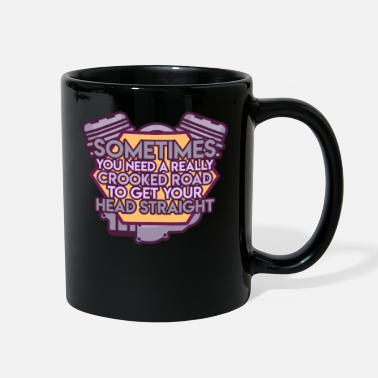 Crook Motorcycle Biker Racing Motorbike Motorcyclist - Full Color Mug