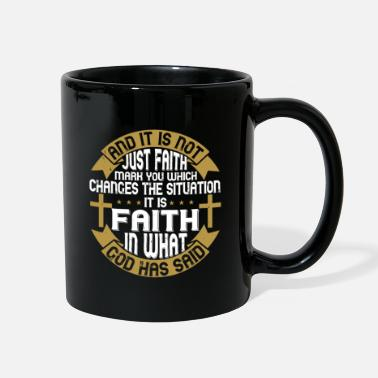 Love You And it is not just faith, mark you, which changes - Full Color Mug