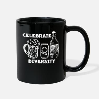 Bar Celebrate Diversity Don't Discriminate Beer - Full Color Mug