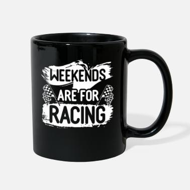 Motorcycle Car Race Bike Racing Racer Gift - Full Color Mug