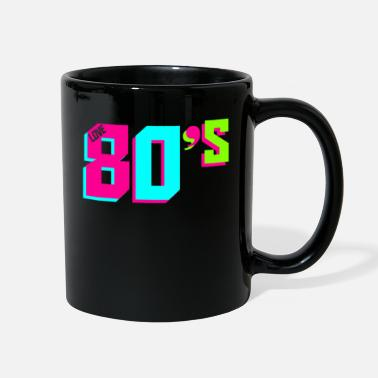 Tape I love the 80s Fancy eighties dress Party Costume - Full Color Mug