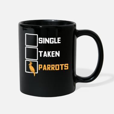 Forgive Single Single Forgiving Parrot Alone with Bird Gift - Full Color Mug