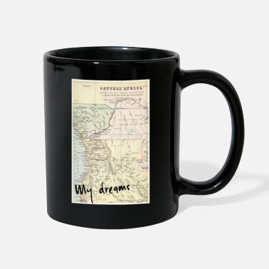 Africa Map Africa Map - Full Color Mug