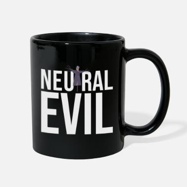 Neutral Evil - Scarecrow Graphic Text - Roleplay - Full Color Mug