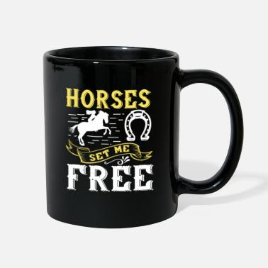 Colt horses set me free - Full Color Mug