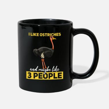 Ostrich Ostrich Gift Funny Ratite Ostriches - Full Color Mug
