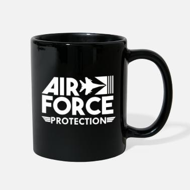 Numbered Air Force Air Force Protection - Air Force - Full Color Mug