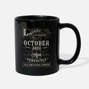 Legend Legends Are Born In October 2002 Birthday - Full Color Mug