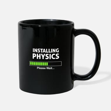 Nerd Physics Loading School Nerd Nerd Nerd - Full Color Mug