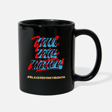 Election Your Voice Matters, Presidential Election 2020 - Full Color Mug