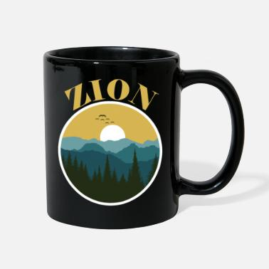 National Zion National Park Utah Zion Utah Family Trip and - Full Color Mug