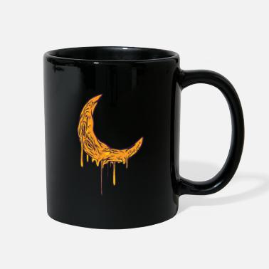 Melting cheese moon cartoon - Full Color Mug
