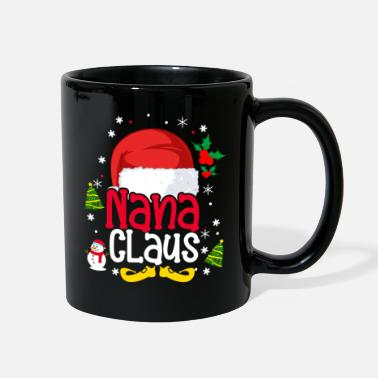 Best Nana Eve Nana Claus Grandma Santa Merry Christmas Grandmoth - Full Color Mug