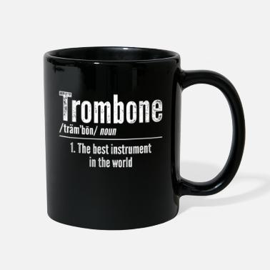 Orchestra Trombone Instrument Marching Band Trombonist - Full Color Mug