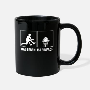 Offensive Funny Basketball Ball Sports Rebound Player Gift - Full Color Mug