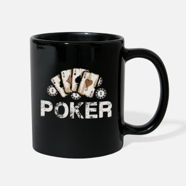 Poker Poker Ace Poker Cards Poker Face Poker - Full Color Mug