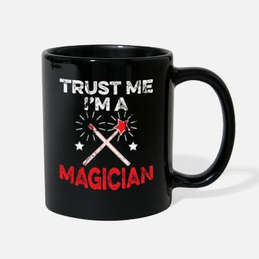Optical Illusion Trust Me I'm A Magician - Full Color Mug