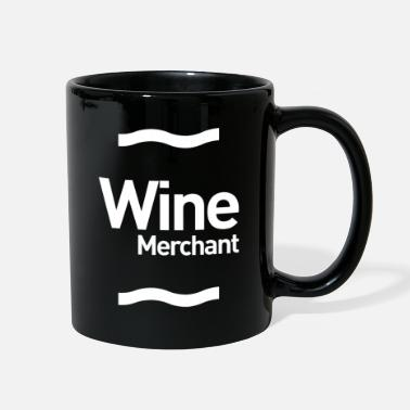 Business Wine Merchant Gift Funny Job Title Profession - Full Color Mug