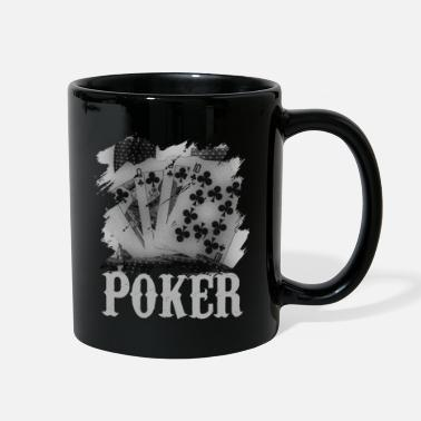 Pik Poker Blackjack Cards Royal Flush Gambling Casino - Full Color Mug