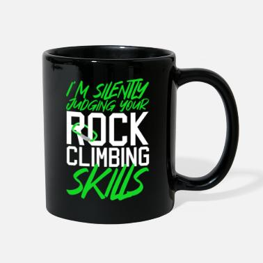 Rock Climbing Funny Rock Climbing Climber - Full Color Mug