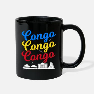 Country Democratic Republic of Congo Gift Idea - Full Color Mug
