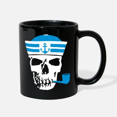 Sailboat sailor_skull_102015_b_2c - Full Color Mug