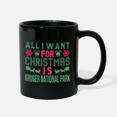 All Seeing Eye All I Want Christmas Kruger National Park Holidays - Full Color Mug